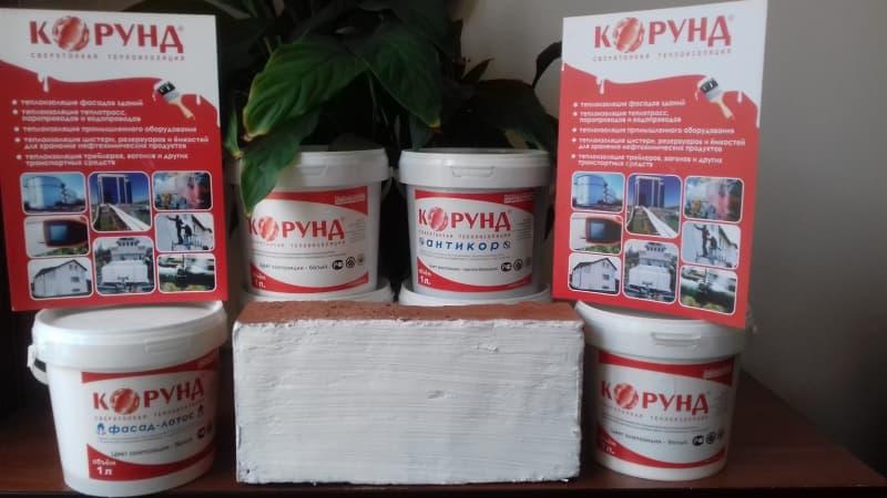 Жидкая теплоизоляция корунд продажа нанесение декоративной шпатлевки